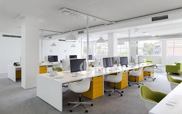 Không gian làm việc tại văn phòng