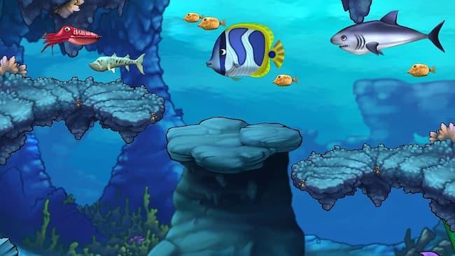 Game cá lớn nuốt cá bẻ được dân văn phòng ưa thích