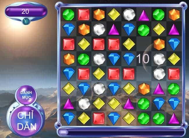 Game xếp kim cương cho dân văn phòng