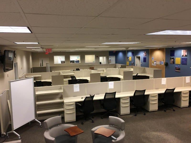 Không gian văn phòng làm việc của Apple