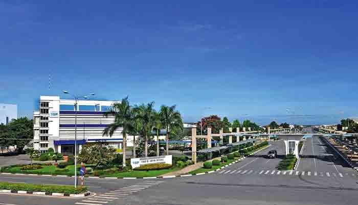 Hình ảnh tổng quan khu công nghiệp Đồng Văn 2