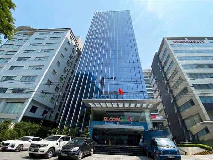 Tổng quan tòa nhà văn phòng Elcom Building