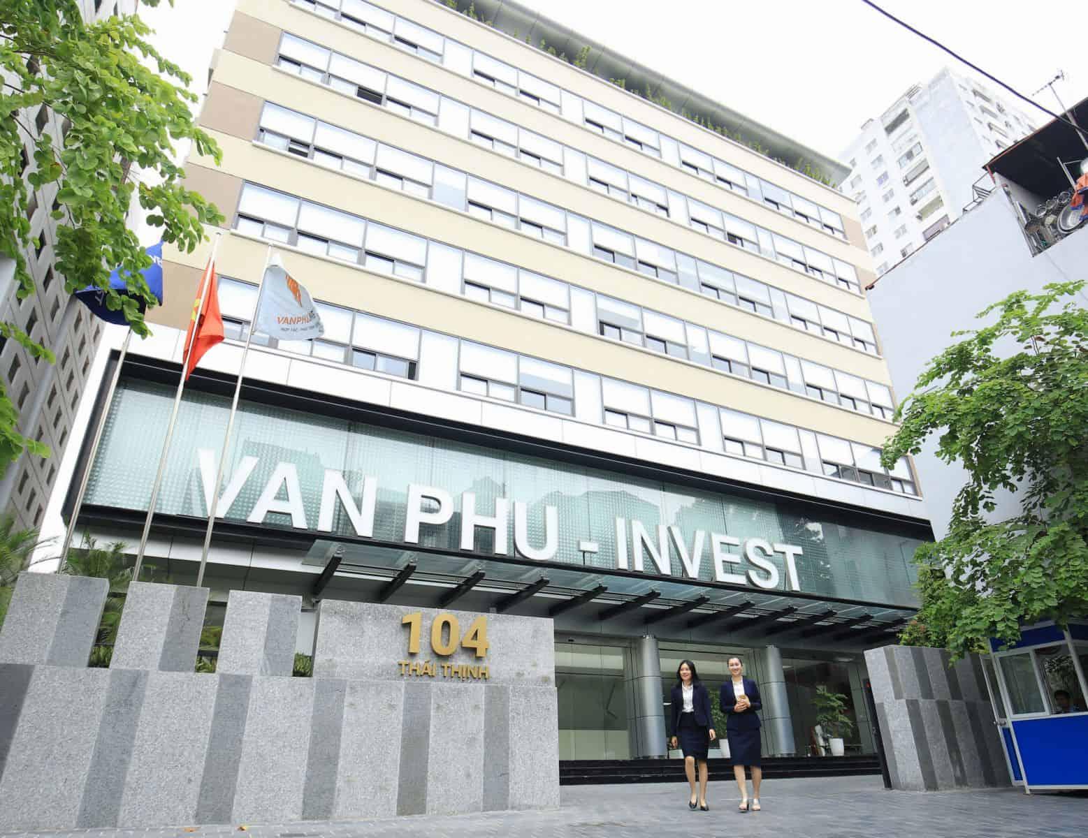 Tòa nhà Văn Phú Invest 104 Thái Thịnh