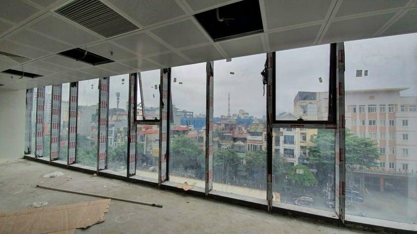 Diện tích trống cho thuê tại tòa nhà Văn Phú Invest