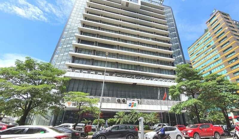 Tòa nhà văn phòng FPT phố Duy Tân