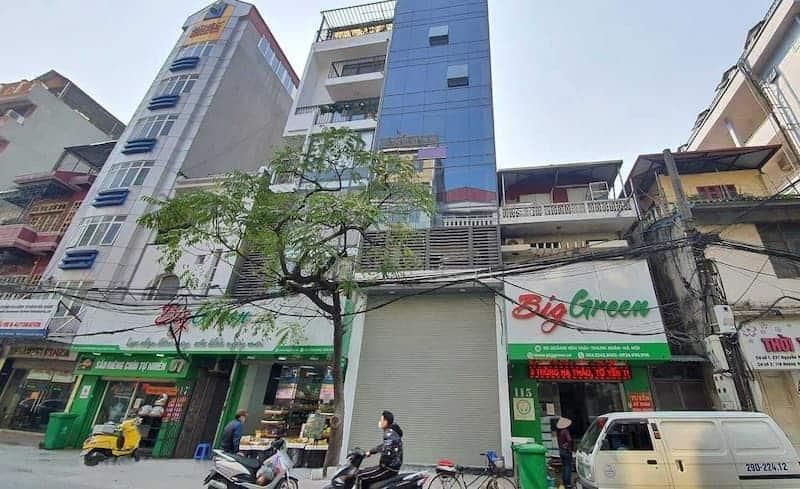 Tòa nhà văn phòng cho thuê 113 Hoàng Văn Thái