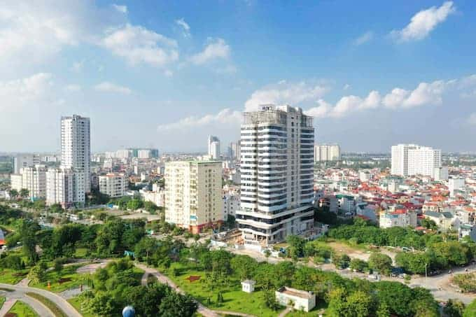 Tổng quan văn phòng tòa nhà Fraser Residence Hà Nội