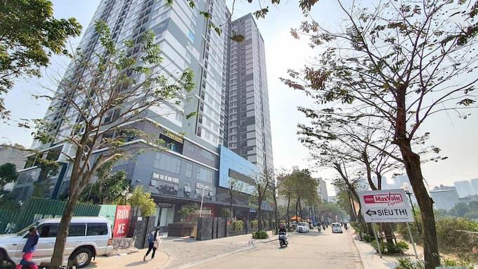 Cho thuê văn phòng Tòa nhà Riverside Garden 349 Vũ Tông Phan