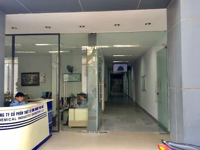 Cho thuê văn phòng tòa nhà 21A Cát Linh